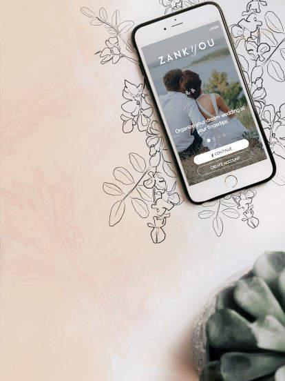 App iPhone y Android para tu boda